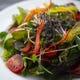 季節野菜を使った料理長おすすめの一品。