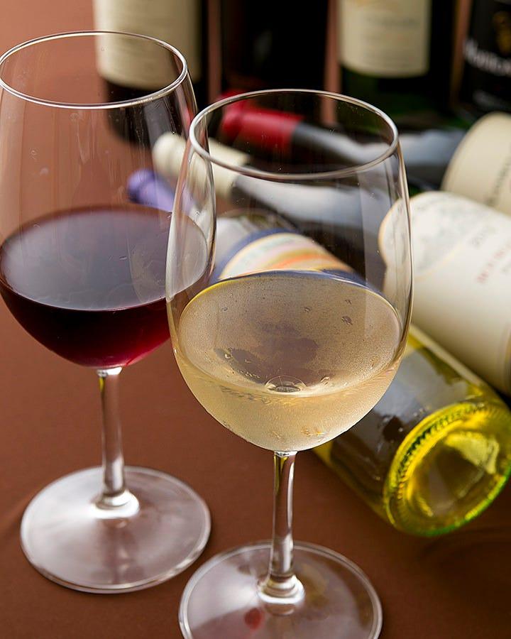 美味しいお肉にはワインが最高です♪
