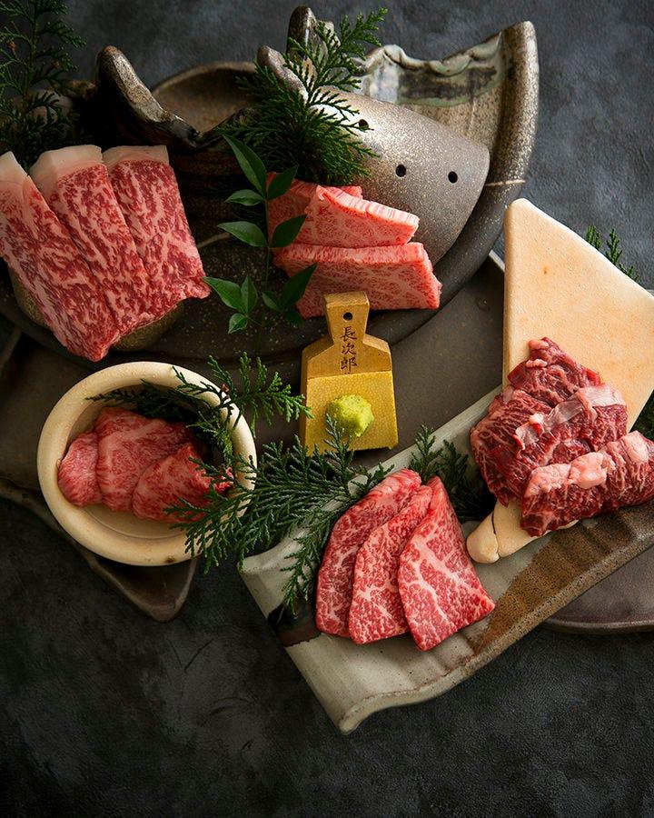 肉の甘みが味わえる 赤身盛り合わせをぜひ