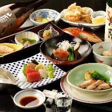 当日ご予約大歓迎♪ 【けやきコース】料理8品 2時間飲み放題付き 5,250円