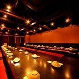 40名宴会場 25~40名様のご利用に最適な宴会場です!