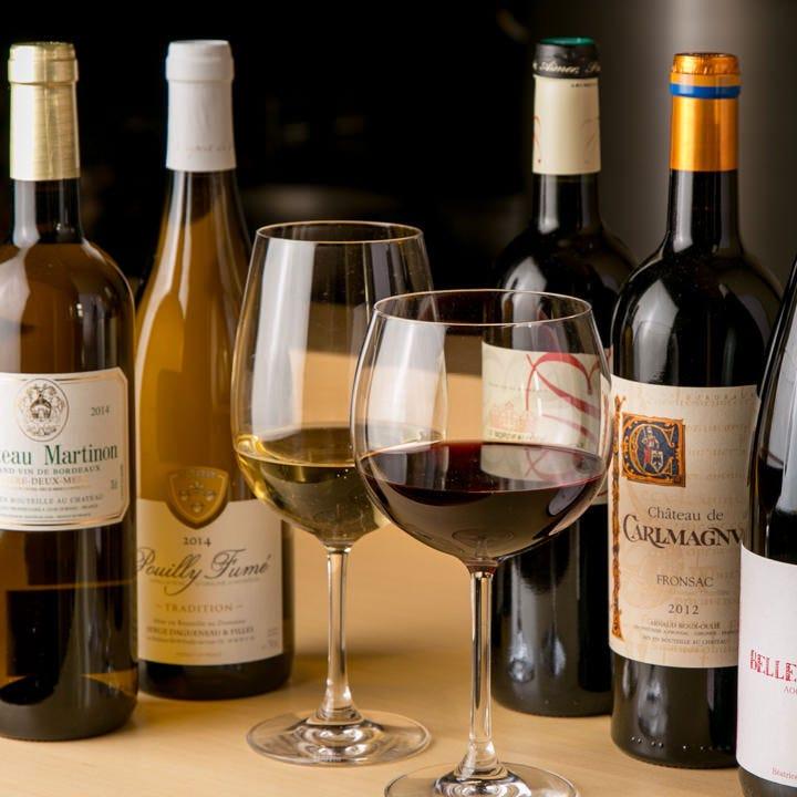 各地のワイン・日本酒で食を愉しむ