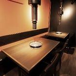 【最大12名様】完全個室テーブル席