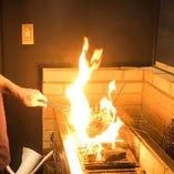 【熟練の技】 絶妙な火加減で素材本来の旨味を引き出します