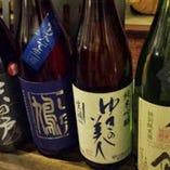 厳選の日本酒も随時入荷しています!