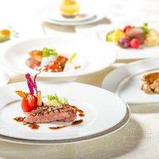 シェフのお任せ COURSE 黒毛和牛・魚料理・前菜・デザート等全7品