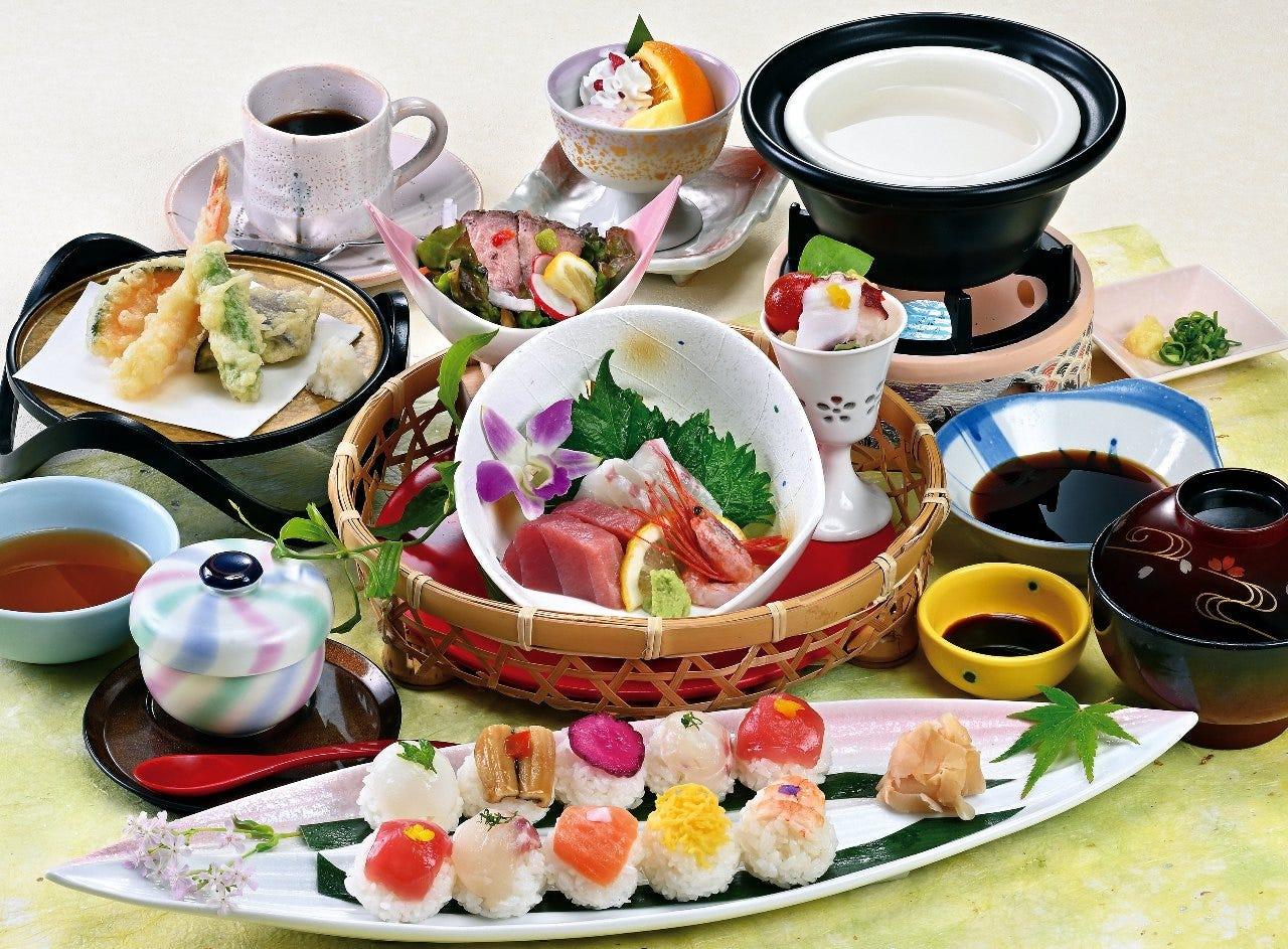 花の雅 寿司御膳 2,300円(税込)