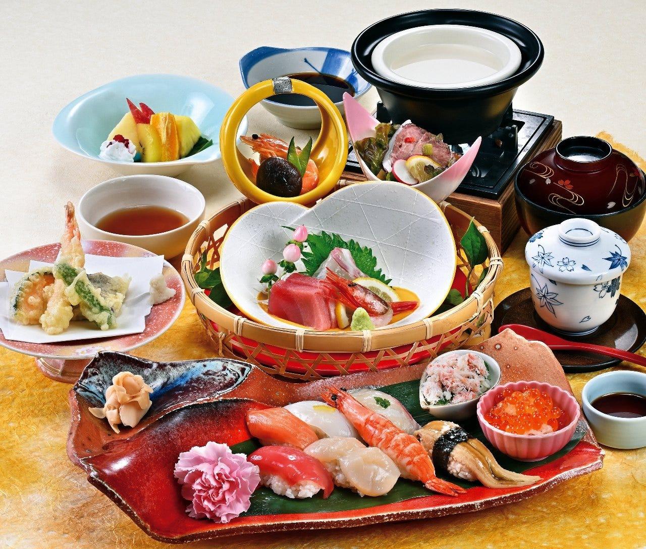 花の海幸 にぎり寿司御膳