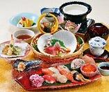 ◆ 花の海幸 にぎり寿司御膳 ◆
