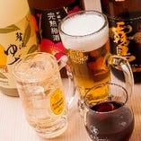 生ビール込の飲み放題付き焼肉コースは飲み会にぴったり!