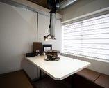 個室のお席で新型コロナウイルスの感染予防も万全です。