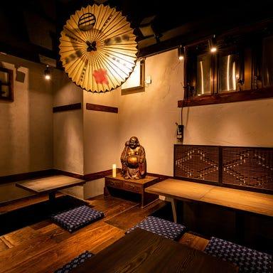 江戸天ぷら屋台酒場 十六文  店内の画像