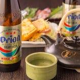 オリオンビールに黒千代香など九州・沖縄ならではの飲み物が豊富