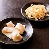 お好きな〆を満喫♪ ごはん・太うどん・中華麺・香の物もおかわり自由!