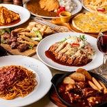 会社宴会等に最適な飲み放題コースは全7種!いずれも自慢の逸品揃いです