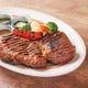 豪快なアメリカンビーフステーキがイチオシ