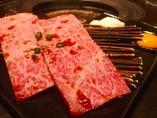 とろける仙台牛ザブトンのすき焼き