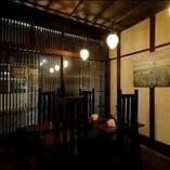 金沢の町家ならではの温かみのある空間で素敵な一時を演出