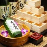 選りすぐった日本酒・焼酎などがあります♪