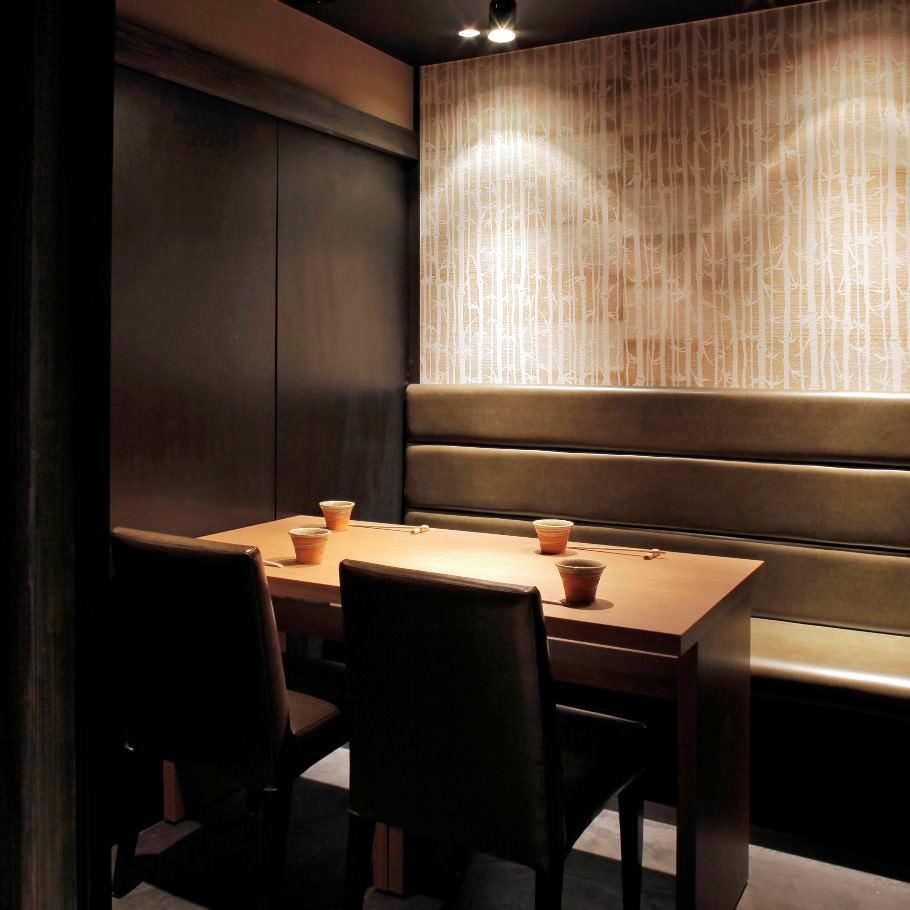 銀座でのランチタイムはゆったり優雅に完全個室で和食を