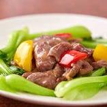 牛肉野菜の炒め