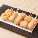 串カツ五種