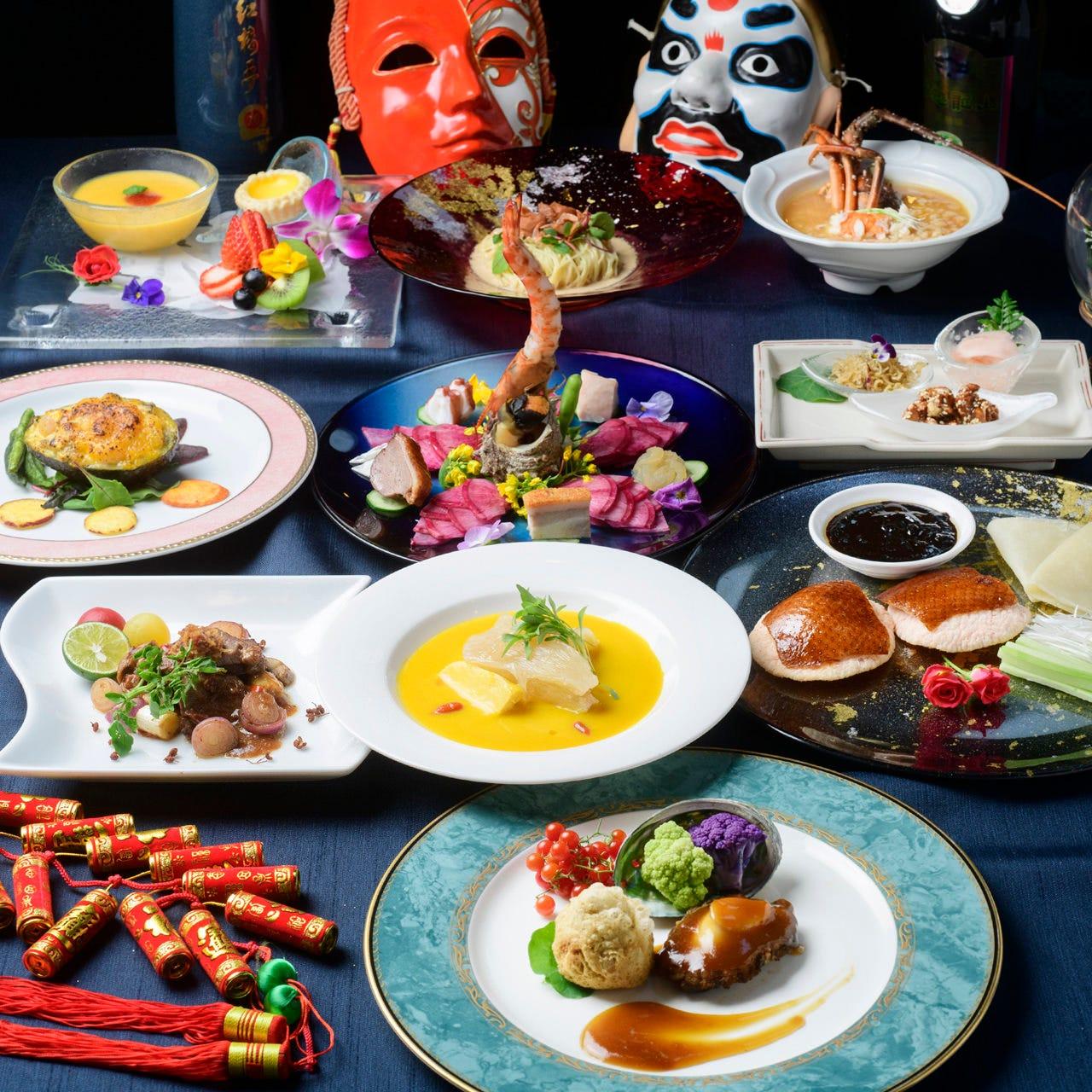物語を描く!ここにしかない中国料理