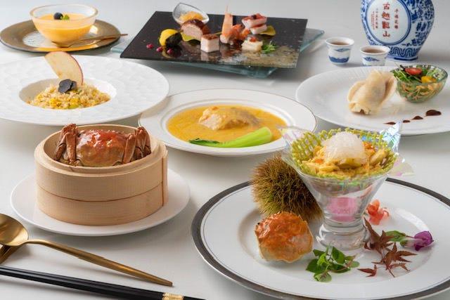 12/15まで限定!旬の上海蟹をふんだんに使用した贅沢なコース