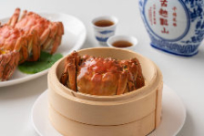 期間限定!【特撰上海蟹ランチ<紫荊>】旬の上海蟹をふんだんに使用したコース全7品