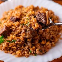 牛肉ゴロゴロ炒飯