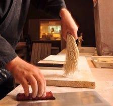 厳選の素材で技で紡がれる自慢の蕎麦