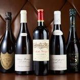 グラスワインをリーズナブルな価格で。