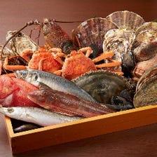 姉妹店『すし堺』仕入れる築地鮮魚