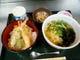 天丼と稲庭うどん(ランチ)