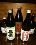 ボトル焼酎(芋・麦)