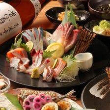 【飲み放題付】旬の贅沢◎釜飯コース 全8品《宴会特別プラン》