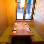 会社宴会やご接待、仲間内の飲み会など完全個室をご用意致します