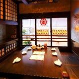 ◆人気の堀ごたつのお席。ご予約はお早めに!◆