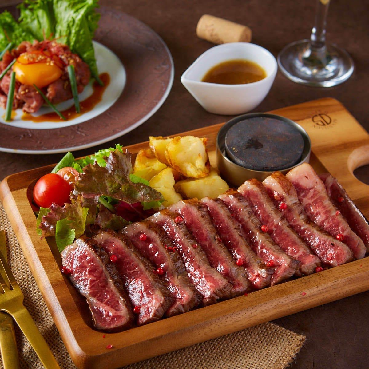 「熟成肉」の低価格化を実現!口溶けがよく、味の深みが特徴。