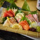 日替わり鮮魚五種盛り