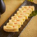 明太子チーズ出汁巻き