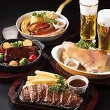 創業121年老舗ビヤホール銀座ライオン 厳選の『肉料理』