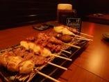 【自慢】串焼とエビスビールで今夜も一杯!
