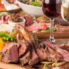 メインは肉料理!お得な宴会コース