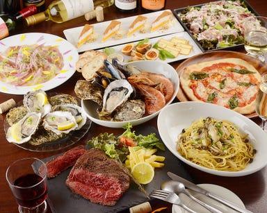 牡蠣とワインと魚と肉と。 武蔵新田にて  コースの画像