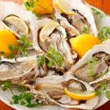 牡蠣とワインと魚と肉と。 武蔵新田にて