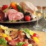 ディナータイムは旬の食材をワゴンで紹介!【北海道】
