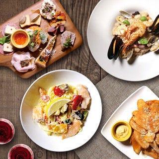 resort&restaurant PISOLA 京橋店 コースの画像