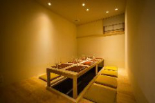 ◆ゆったりくつろげる個室席を完備