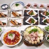 ☆選べる2種の鍋コース☆全8品☆3,300円(税込)